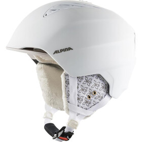 Alpina Grand Ski Helmet white/prosecco matt